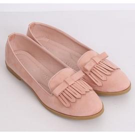 Lordsy damskie różowe 2358 Pink 3