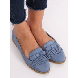 Lordsy damskie niebieskie 2358 Blue 2