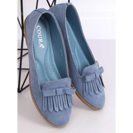 Lordsy damskie niebieskie 2358 Blue 3