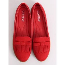 Lordsy damskie czerwone 2358 Red 3