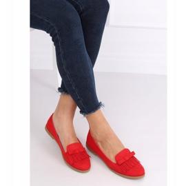 Lordsy damskie czerwone 2358 Red 2