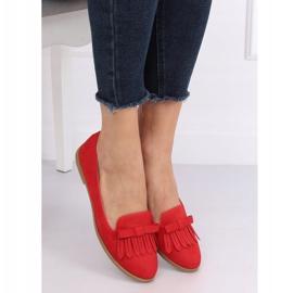 Lordsy damskie czerwone 2358 Red 1