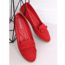Lordsy damskie czerwone 2358 Red 4