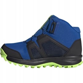 Buty adidas Terrex Boa Mid R.RD Jr EE8470 niebieskie 2