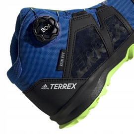 Buty adidas Terrex Boa Mid R.RD Jr EE8470 niebieskie 4