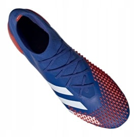 Buty piłkarskie adidas Predator 20.1 Fg M EG1600 niebieskie wielokolorowe 1