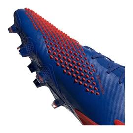 Buty piłkarskie adidas Predator 20.1 Fg M EG1600 niebieskie wielokolorowe 3