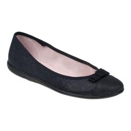 Befado obuwie młodzieżowe 309Q018 czarne 1