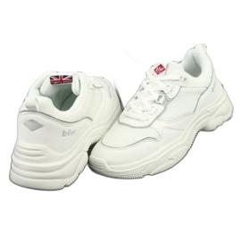 Lee Cooper W-1276 Women White białe szare 3