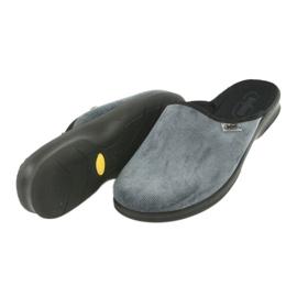 Befado obuwie męskie pu 548M017 szare 5