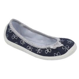 Befado obuwie dziecięce  980Y097 czarne szare 1