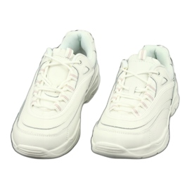 Sportowe buty damskie Filippo 1411 białe 3