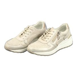 Sportowe buty damskie Filippo 1423 żółte 3