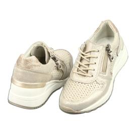 Sportowe buty damskie Filippo 1423 żółte 4