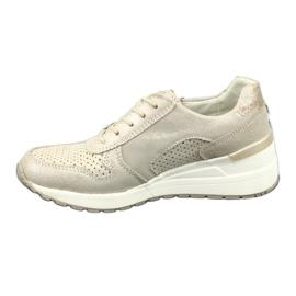 Sportowe buty damskie Filippo 1423 żółte 2
