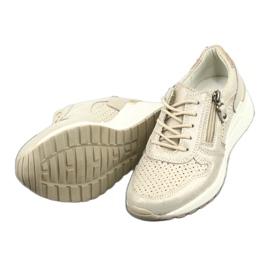 Sportowe buty damskie Filippo 1423 żółte 5
