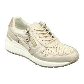 Sportowe buty damskie Filippo 1423 żółte 1