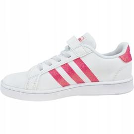 Buty adidas Grand Court K Jr EG3811 białe 1