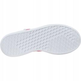 Buty adidas Grand Court K Jr EG3811 białe 3