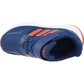 Buty adidas Runfalcon Jr EG2226 granatowe 2