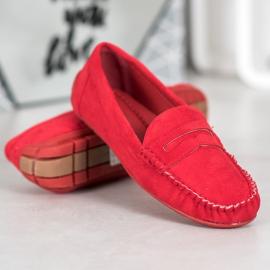 Seastar Klasyczne Czerwone Mokasyny 3