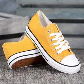 J. Star Klasyczne Żółte Trampki 1