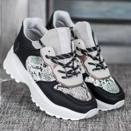 Stylowe Sneakersy MCKEYLOR czarne 1