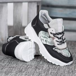 Stylowe Sneakersy MCKEYLOR czarne 2