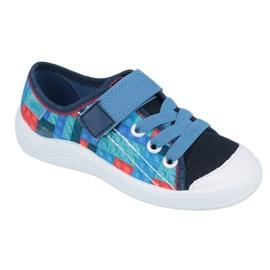 Befado obuwie dziecięce 251X147 niebieskie wielokolorowe 1