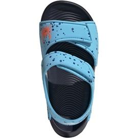 Sandały adidas Altaswim C Jr EG2178 niebieskie 1