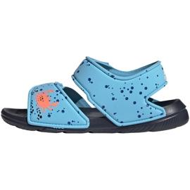 Sandały adidas Altaswim C Jr EG2178 niebieskie 2