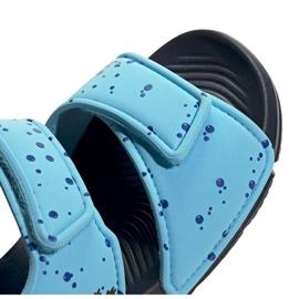 Sandały adidas Altaswim C Jr EG2178 niebieskie 3