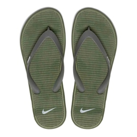 Japonki Nike Solarsoft Thong Ii M 488160 308 zielone 3
