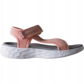 Sandały Kappa Vedity Ii W 242811 2110 różowe 2