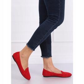 Lordsy ażurowe czerwone 9F126 Red 1