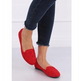 Lordsy ażurowe czerwone 9F126 Red 2