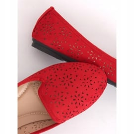 Lordsy ażurowe czerwone 9F126 Red 3