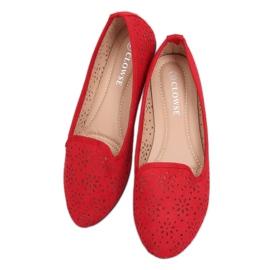 Lordsy ażurowe czerwone 9F126 Red 4