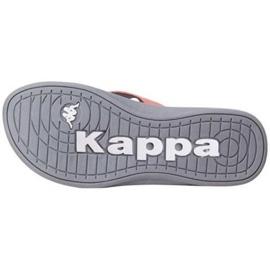 Klapki Kappa Cally W 242834 2916 wielokolorowe szare 1
