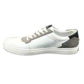 Buty sportowe Badura 3361 białe czarne szare 5