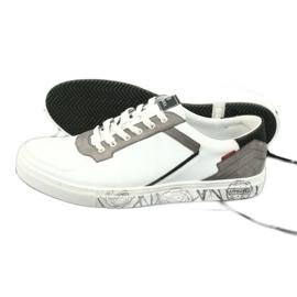 Buty sportowe Badura 3361 białe czarne szare 6