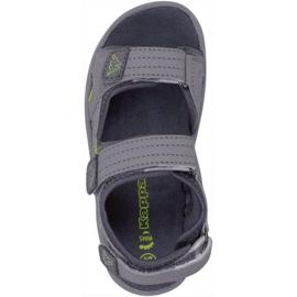 Sandały Kappa Early Ii K Footwear Jr 260373K 1633 wielokolorowe szare 1