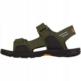 Sandały Kappa Pure T Footwear Jr 260594T 3144 pomarańczowe zielone 2