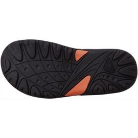 Sandały Kappa Pure T Footwear Jr 260594T 3144 pomarańczowe zielone 3