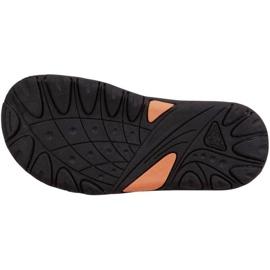 Sandały Kappa Symi K Footwear Jr 260685K 1144 czarne pomarańczowe 3