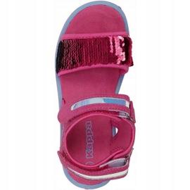 Sandały Kappa Seaqueen K Footwear Jr 260767K 2260 niebieskie różowe 1