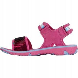 Sandały Kappa Seaqueen K Footwear Jr 260767K 2260 niebieskie różowe 2