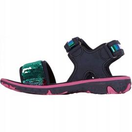 Sandały Kappa Seaqueen K Footwear Jr 260767K 6722 granatowe różowe 3