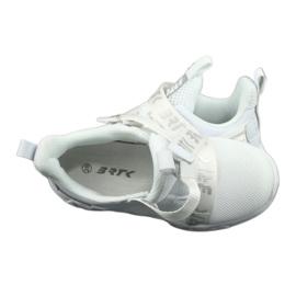 Bartek 75213 Buty Sportowe wkładka skórzana białe szare 6