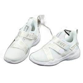 Bartek 75213 Buty Sportowe wkładka skórzana białe szare 3